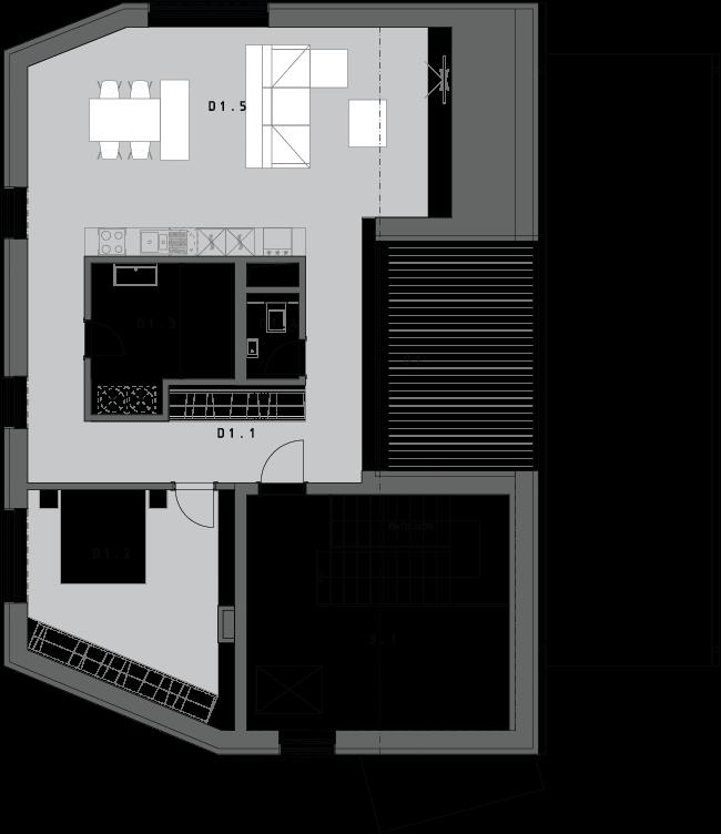 2-izbový byt D